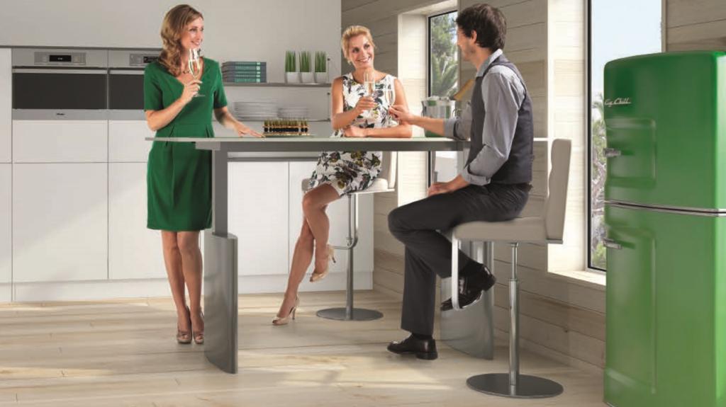 Mesa elevable cocina